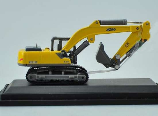 1:87 Scale Yellow XCMG XE215C Diecast Excavator Model