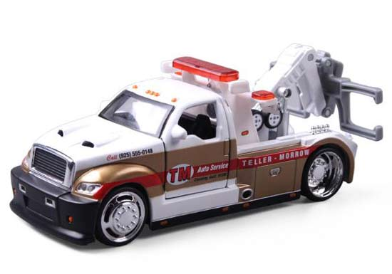 Ford f350 Tow Truck Sons of Anarchy Fourrière Voiture or blanc 1//24 Maisto Mo...